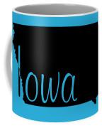Iowa In Black Coffee Mug