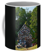 Ipswich Bay Wooden Buoy Gloucester Ma Coffee Mug