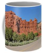 Ir-13 Cliffs Coffee Mug