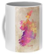 Ireland Map  Coffee Mug