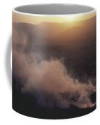 Ireland Smoke Rising From Peat Bog Coffee Mug