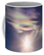 Iridescent Clouds Near The Sun Coffee Mug