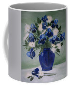 Iris And Mums Coffee Mug