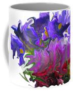 Iris And Tulip Coffee Mug