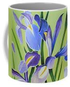 Iris Fields - Center Panel Coffee Mug
