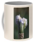 Iris Flower Starts To Reveal And Design Coffee Mug