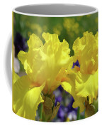 Iris Flowers Garden Art Yellow Irises Baslee Troutman Coffee Mug