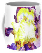 Iris Flowers Watercolor  Coffee Mug