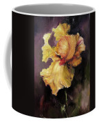 Iris Gold Coffee Mug