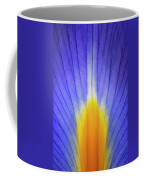 Iris Leaf Abstract Coffee Mug