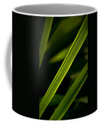 Iris Leaves Coffee Mug