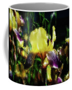 Iris Purple And Yellow Coffee Mug