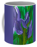 Iris Up Close And Personal Coffee Mug