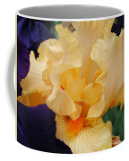 Irises Art Prints Peach Iris Flowers Artwork Floral Botanical Art Baslee Troutman Coffee Mug