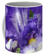 Irises Artwork Purple Iris Flowers Art Prints Canvas Baslee Troutman Coffee Mug