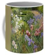 Irises At Bedfield Coffee Mug