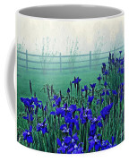 Irises At Dawn 3 Coffee Mug