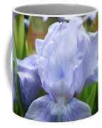 Irises Blue Iris Flower Light Blue Art Flower Soft Baby Blue Baslee Troutman Coffee Mug