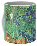 Irises Coffee Mug by Vincent Van Gogh