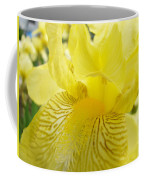 Irises Yellow Brown Iris Flowers Irises Art Prints Baslee Troutman Coffee Mug