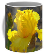 Irises Yellow Iris Flowers Art Prints Floral Canvas Baslee Troutman Coffee Mug