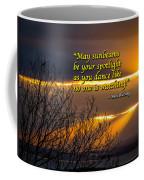 Irish Blessing - May Sunbeams Be Your Spotlight Coffee Mug