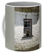 Irish Kettle Of Geraniums County Cork Ireland Coffee Mug