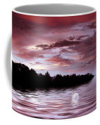 Sunset Swim Coffee Mug