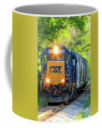 Iron Age Engineers Csx Locomotive Art Coffee Mug