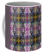 Iron Chains With Tartan Seamless Texture Coffee Mug