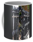 Iron Fence Coffee Mug