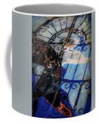 Iron Gate Abstract Coffee Mug