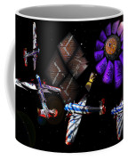Iron In The Sky Coffee Mug