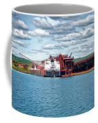 Iron Ore Loading Onto Laker Coffee Mug