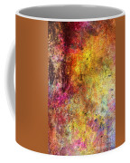 Iron Texture Painting Coffee Mug