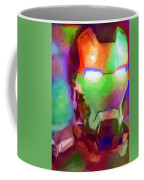 Ironman Abstract Digital Paint 1 Coffee Mug