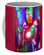 Ironman Abstract Digital Paint 2 Coffee Mug