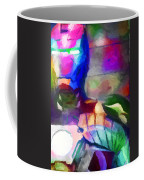 Ironman Abstract Digital Paint 3 Coffee Mug