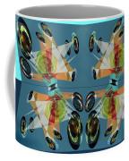Irregular Mirrored Watches Coffee Mug