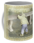 Is Bunny Under The Bench? Coffee Mug