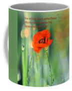 Isaiah 26 3 Of Beverly Guilliams Coffee Mug