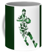 Isaiah Thomas Boston Celtics Pixel Art 5 Coffee Mug