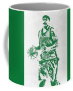 Isaiah Thomas Boston Celtics Pixel Art Coffee Mug