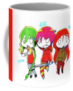 Isamu, Akane, And Amanda Coffee Mug