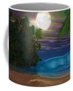 Island Beach Coffee Mug by Corey Ford