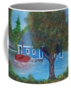 Island Boathouse Coffee Mug