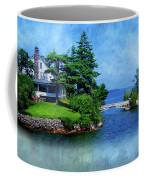 Island Home With Bridge - My Happy Place Coffee Mug