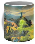 Island Lighthouse Coffee Mug