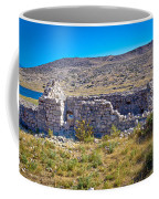 Island Of Krk Old Stone Ruins Coffee Mug