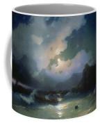 Island Of Patmos 1854 116h190 Ivan Konstantinovich Aivazovsky Coffee Mug